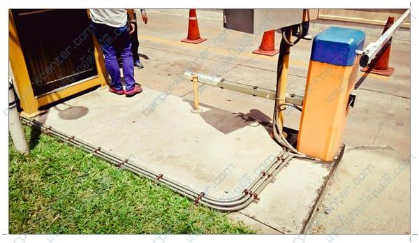 การเดินท่อร้อยสายของหน้างาน หอการค้าไทย-จีน