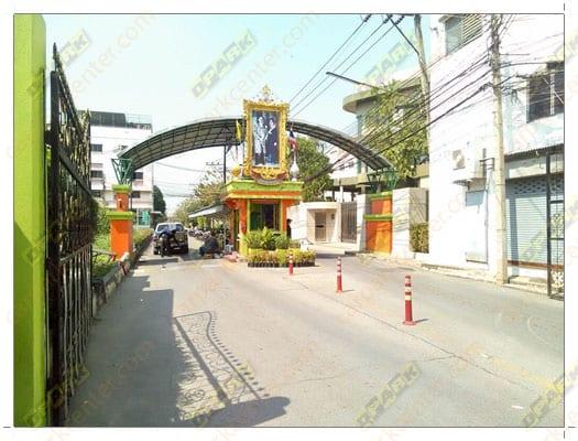 หมู่บ้านปรีชา พุทธมณฑลสาย 4 ระบบคาร์ปาร์คเบสิก carpark basic ไม่มีหัวอ่าน