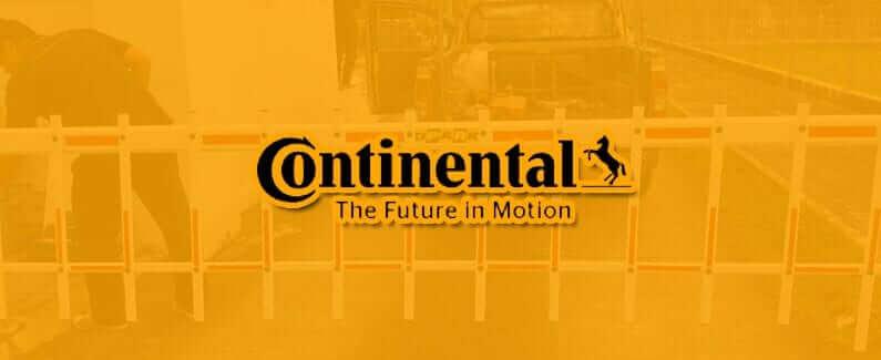 Continental Tyres (Thailand) Co.,Ltd ติดตั้ง ระบบไม้กั้นรถรั้วระแนงอัตโนมัติ