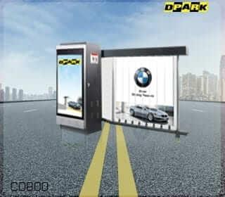 แขนกั้นรถยนต์พร้อมโฆษณา รุ่น CD800