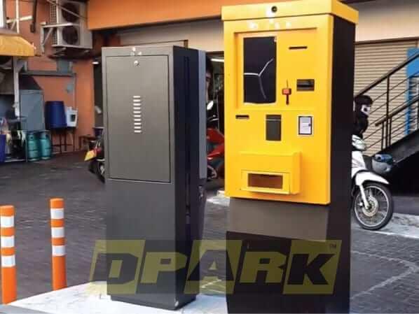ระบบ ตู้ออกบัตร คิดเงินลานจอดรถ